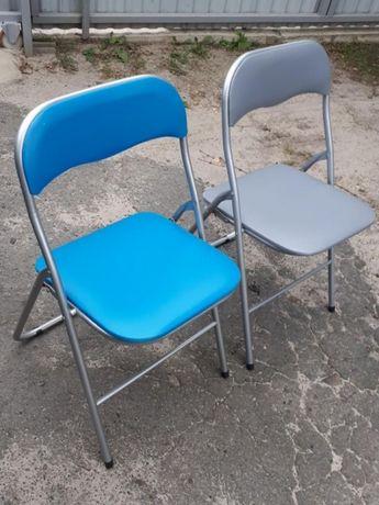 Складные мягкие стулья