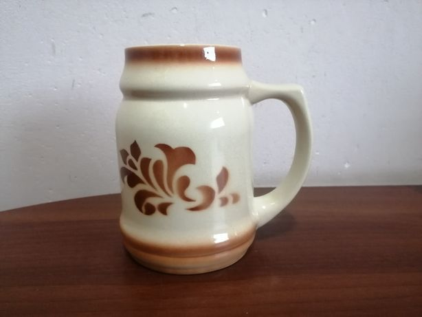 Kufel ceramiczny ceramika Bolesławiec
