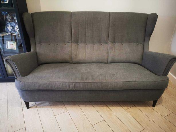 Sofa kanapa trzyosobowa strandmon ikea