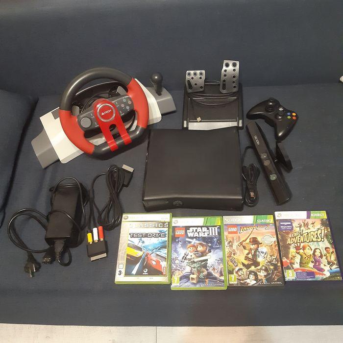 Xbox 360 kinect +kierownica i gry Rudziczka - image 1