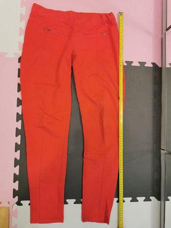 Czerwone spodnie H&M 36 (M)