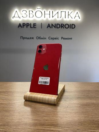 iPhone 11 64 Gb Red, 10/10, 100% акб, магазин | гарантія