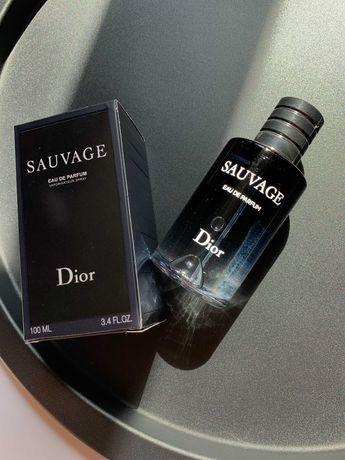 Мужские духи Dior Sauvage 100 мл. Диор Саваж 100 мл . Новые