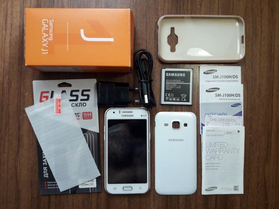 Samsung Galaxy J1 Duos SM-J100 White / Белый Кременчуг - изображение 1