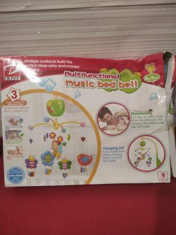 Мобиль для ребёнка (на кроватку) Happy Bed Bell