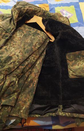 Камуфляжный комплект(бушлат и комбинезон)