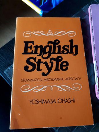 Książka English Style Yoshimasa Ohashi Nowa