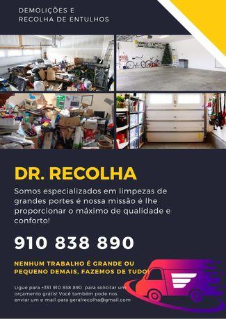 Recolha de RECHEIOS/ENTULHOS