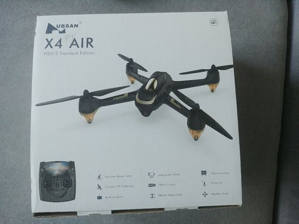 Dron Hubsan X4 AIR H501S silniki bezszczotkowe
