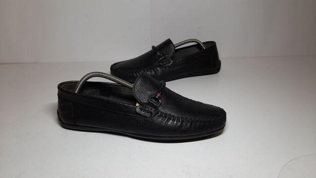 42р,стелька27см,Кожаные мокасины,туфли,ботинки City Life (Сити Лайф)