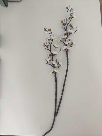 Kwiat bawełny ozdobny sztuczny OKAZJA