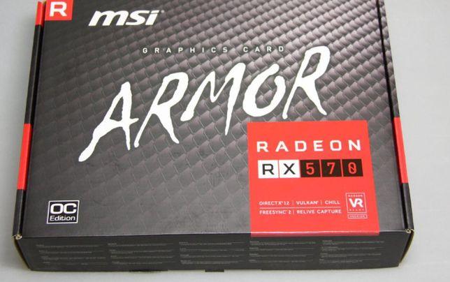 Видеокарта MSI Radeon RX 470 ARMOR 4G