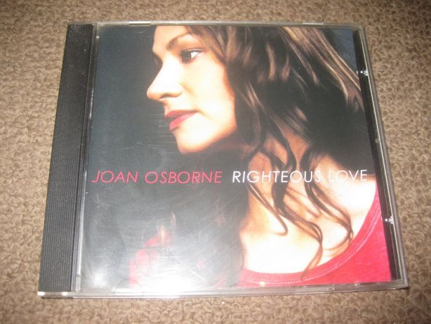 "CD da Joan Osborne ""Righteous Love"" Portes Grátis!"