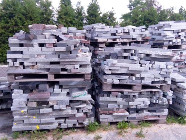 Odpady granitowe, kamień ogrodowy, kostka granitowa.