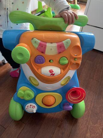 Jeździk , pchacz , stoliczek edukacyjny z toysRus - firma Bruin od 6+