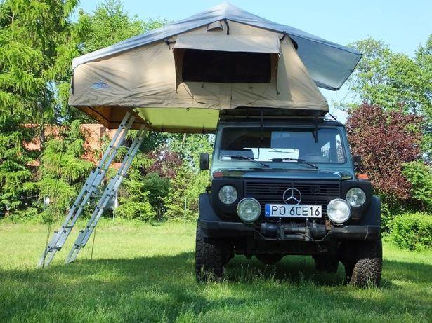 Namiot dachowy samochodowy Gobi Family 220 4-os podłoga Honeycomb Base