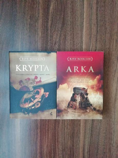 Boyd Morrison - Krypta, Arka