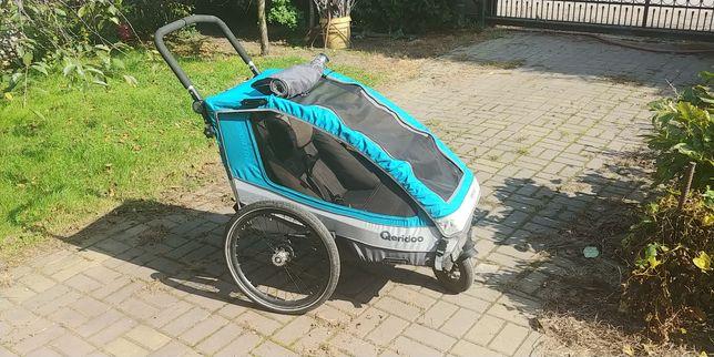 Przyczepka rowerowa Qeridoo Sportrex 1