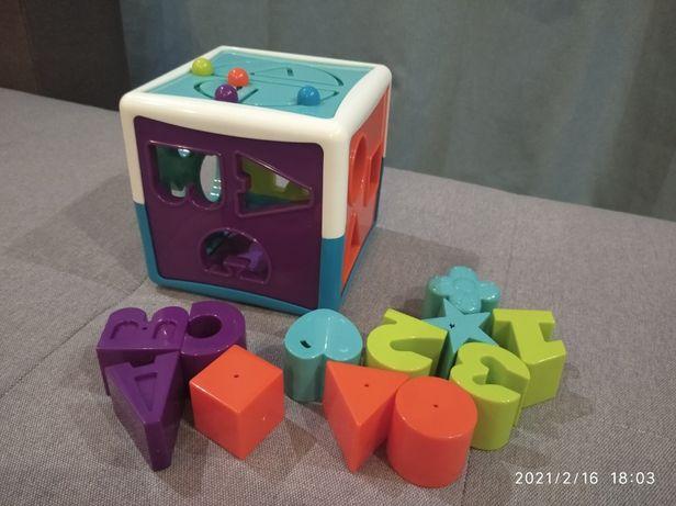 Игрушка сортёр -умный куб