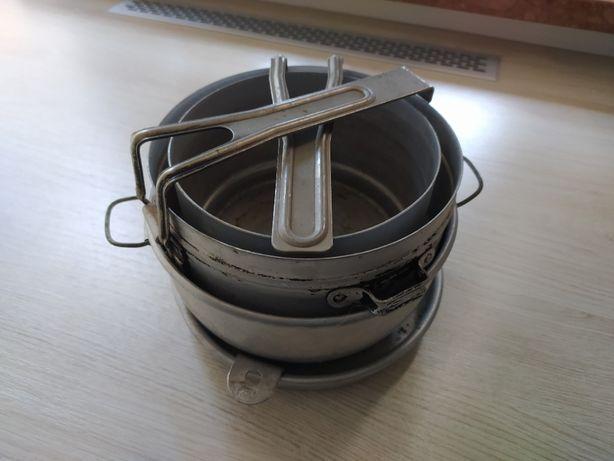 Aluminiowy zestaw kempingowy