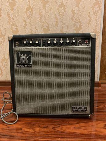 Винтажный ламповый комбо-усилитель 1980 MUSIC MAN 112-RD-50