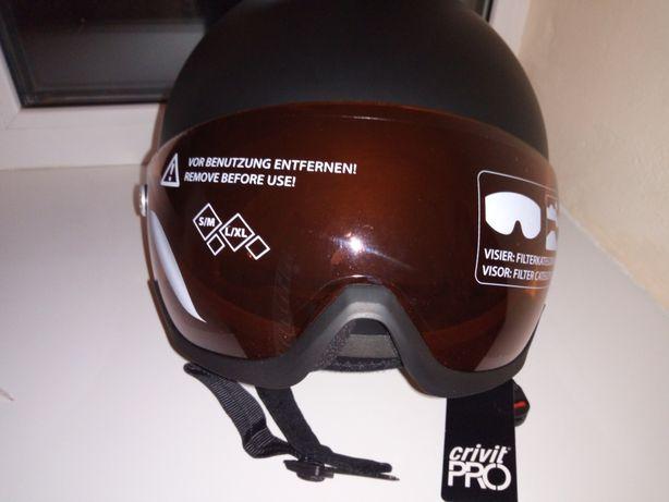 Шлем с визором 59-63 см.