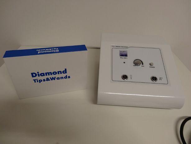 Mikrodermabrazja diamentowa 2w1 vacuum spray urządzenie NOWE trądzik