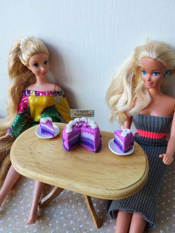 Barbie, jedzenie, gadżety, schleich, maileg, domek dla lalek