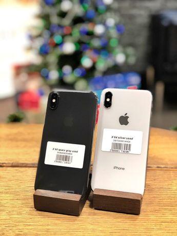 iPhone X 64/256 GB Б/У | Кредит/Обмін/Ремонт