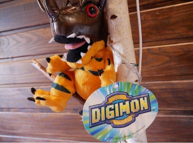 Игрушка Digimon Grayton 1991 года с бирками Vintage