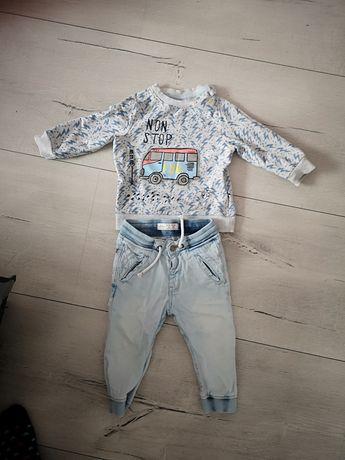 Nowa bluza coccodrillo i spodnie zara