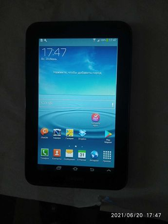 планшет Samsung Galaxy Tab 2. 7.0 GT-P3100