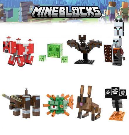 Coleção Minecraft nº5 (coleção de 8 Kits compatíveis com Lego)