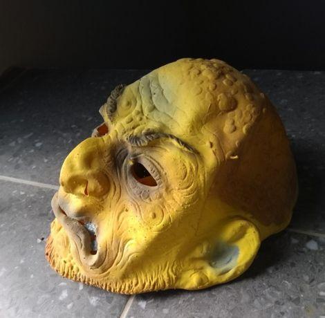 Máscara Velho Horrendo, em silicone – Carnaval e Halloween