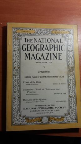 National Geographic November 1926