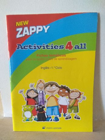 New Zappy Activities 4 all - Livro de Inglês