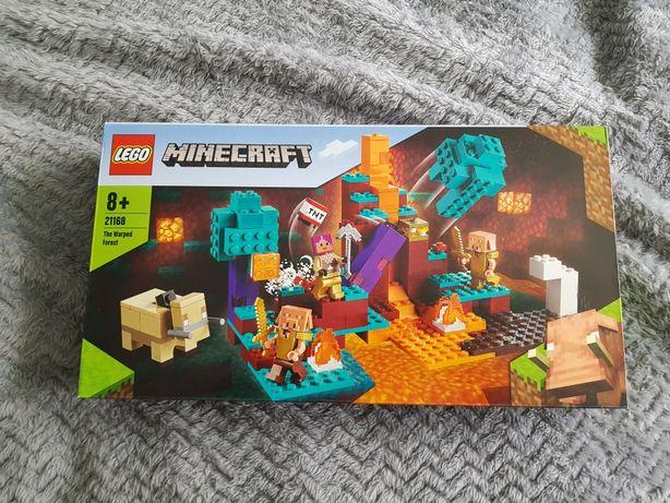 Lego Minecraft 21168 Spaczony Las, nowe