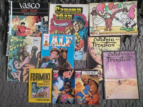 Różne stare komiksy