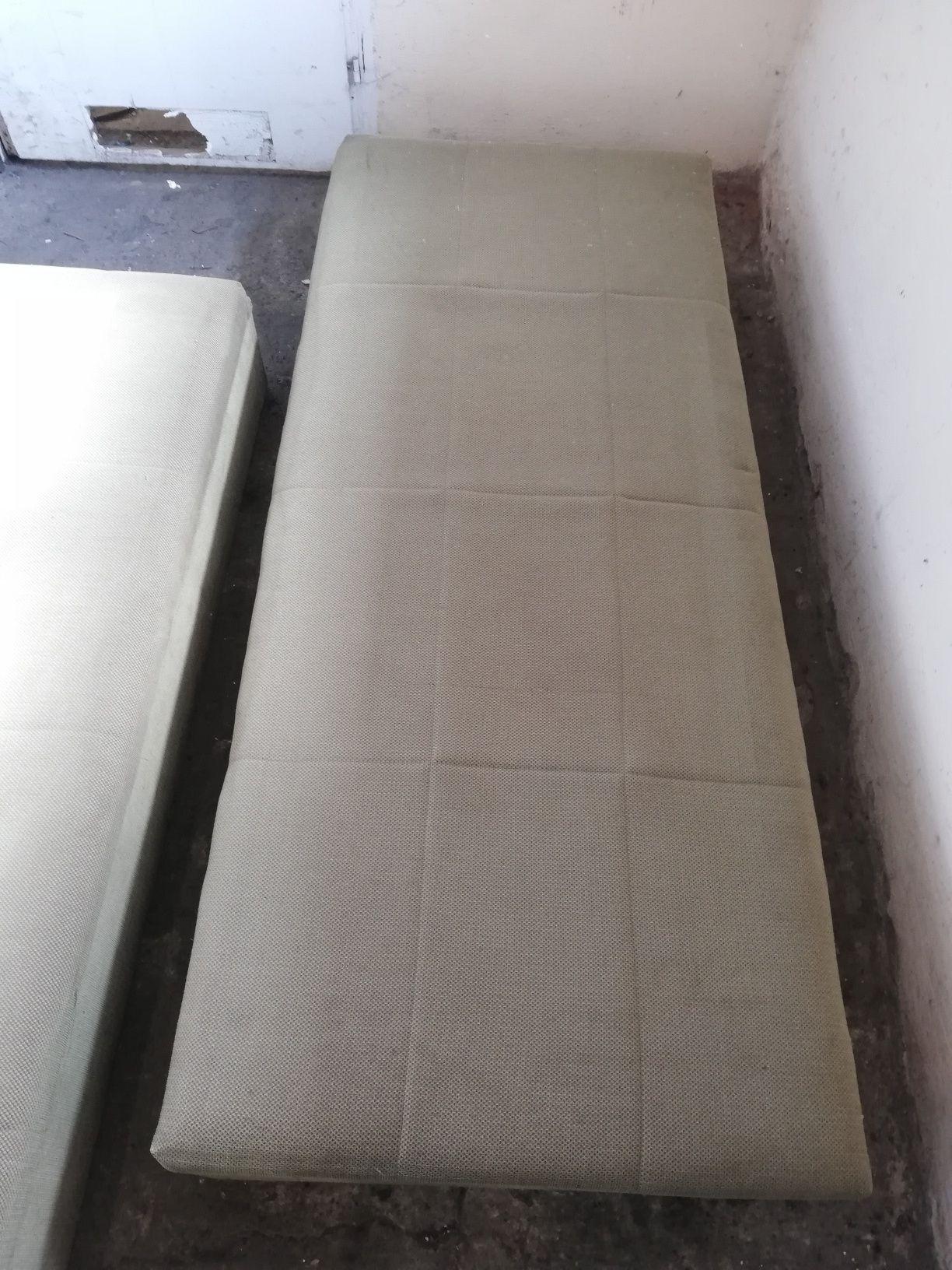 Tapczan łóżko 2szt 190x80