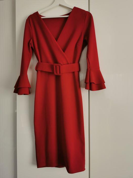 Czerwona sukienka r. 38 Pruszków - image 1