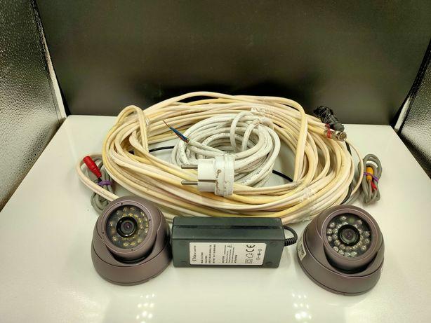 2 Kamery kolorowe zewnętrzne Cam-665 Roto. Lombard Łódź.