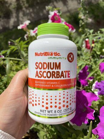 Витамин C ц Содиум аскорбат sodium ascorbate iherb