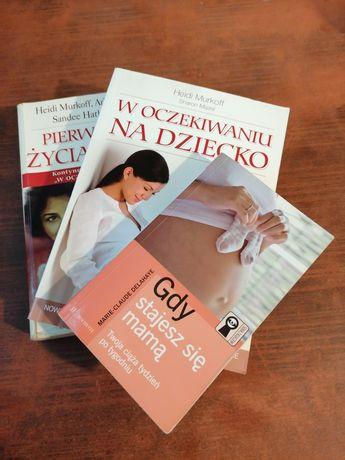 Zestaw książek dla przyszłej mamy. Ciąża_ poród_ dziecko _wychowanie