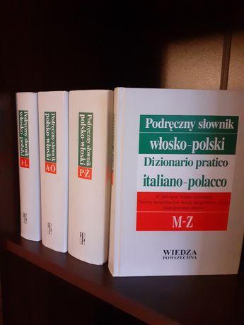 Podręczny słownik polsko -włoski,  stan dobry