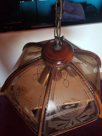 Lampa sufitowa szkło