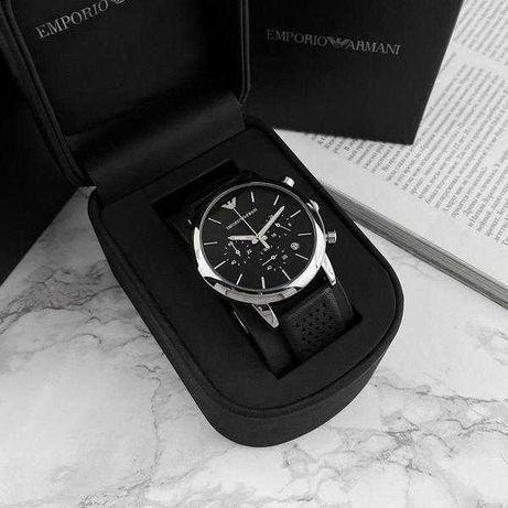 Мужские часы Armani Emporio, Армани, чоловічий годинник, серебро