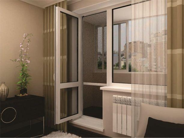 Балконний блок - Балконні двері - Балконні вікна - Лоджія