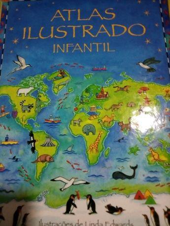 Atlas ilustrado para jovens