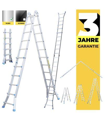 Драбина телескопічна 6,25 м. Лестница craftfull