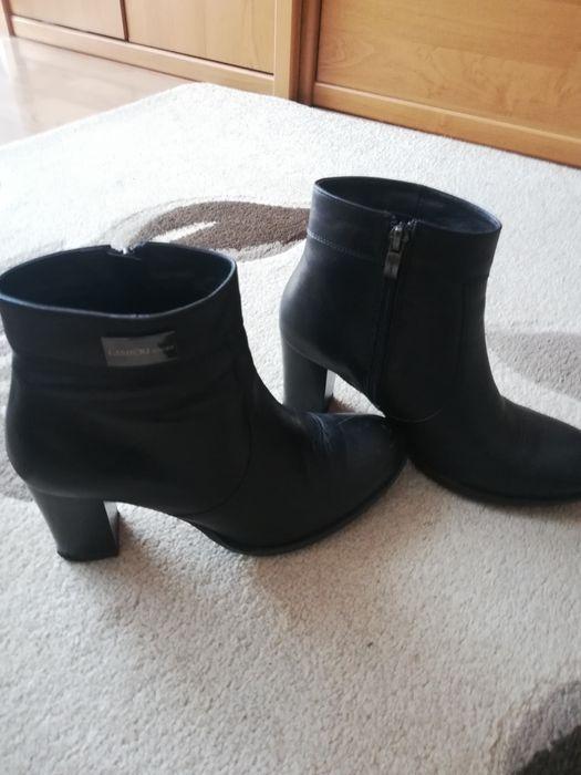 Buty botki skórzane czarne Skarżysko-Kamienna - image 1